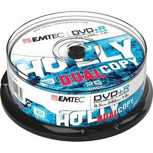photo Pack de 25 DVD+R DL 8,5GB 8x Cake Box