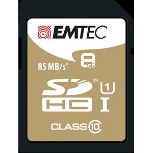 photo SDHC 8GB Class10 Gold +