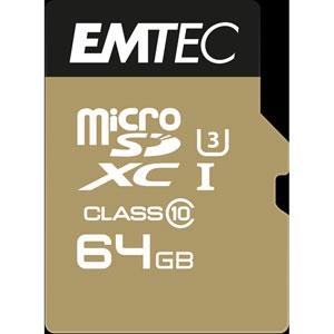 photo microSDXC Class10 Speedin - 64Go