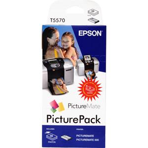 photo Kit Encre + 135 x Papier 10 x 15 cm - C13T557040BH