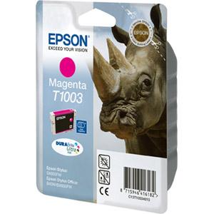 photo Série Rhinocéros - Magenta - T1003
