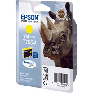 photo Série Rhinocéros - Jaune - T1004