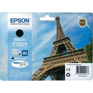 photo Série Tour Eiffel - T0721 XL - Noir