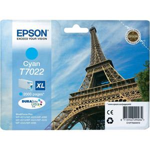 photo Série Tour Eiffel - T0722 XL - Cyan