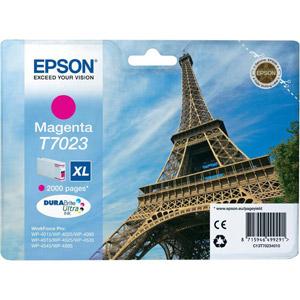 photo Série Tour Eiffel - T0723 XL - Magenta
