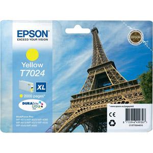 photo Série Tour Eiffel - T0724 XL - Jaune
