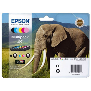 photo Série Elephant - Multipack - 24 (Pack de 6)