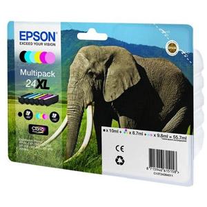 photo Série Elephant - Multipack - 24XL (Pack de 6)