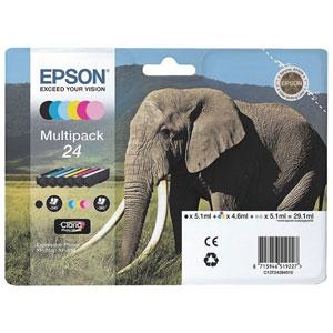 photo Série Eléphant 24 - Multipack 6 couleurs