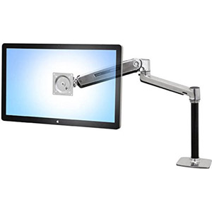 photo LX HD Sit-Stand Desk Mount LCD Arm