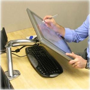 Bras MX pour LCD, fixation bureau