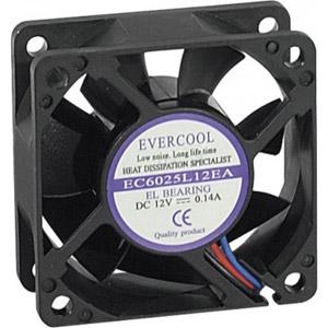 photo Ventilateur lubrifié 60x60x25 mm