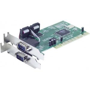 Carte PCI Low profile 2 ports RS232 -Chipset SUNIX