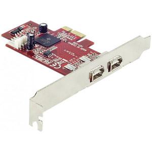 Carte PCI Express 2 ports FireWire A