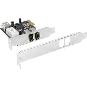 photo Carte PCI Express LP FireWire 2 ports +1 interne