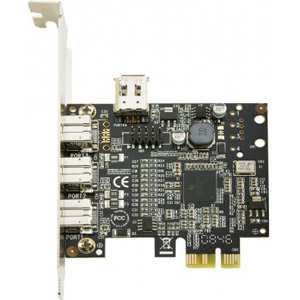 photo Carte PCI Express FireWire 800 3 ports B+1 port A