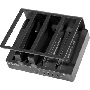 Duplicateur dock station 4 baies SATAI/II-USB2.0