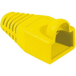 photo Manchon RJ45 jaune 5,5mm (sachet de 10)