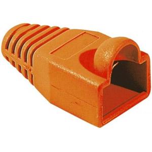 photo Manchon RJ45 orange 6mm (sachet de 10)