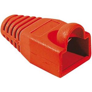 photo Manchon RJ45 rouge 6mm (sachet de 10)