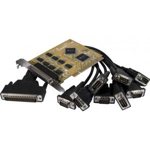 photo Carte PCI 8 ports RS232 sur Pieuvre DB44