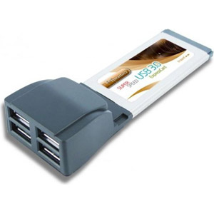 photo Expresscard 4 ports USB 3.0