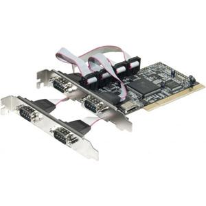 photo Carte PCI 4x série RS232/DB9