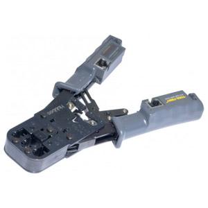 photo Pince à sertir avec testeur RJ45 intégré