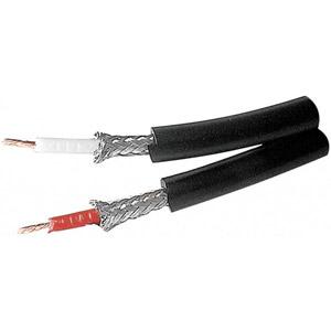 photo Câble double coaxial 6mm Audio OFC - 25m