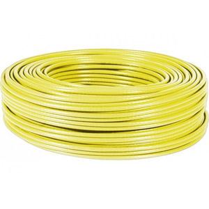 photo Cable multibrin F/UTP Cat 6a LSOH Jaune - 100m