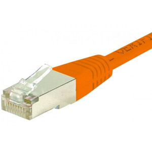 photo Cordon RJ45 S/FTP CAT 6 Orange - 3,00m