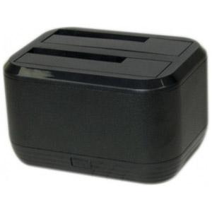 photo Dock USB3.0 SATA/IDE pour 2x SSD/HDD 2,5  / 3,5