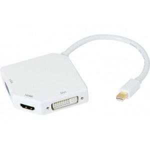 photo Convertisseur Mini DP 1.1 vers DVI / HDMI / VGA