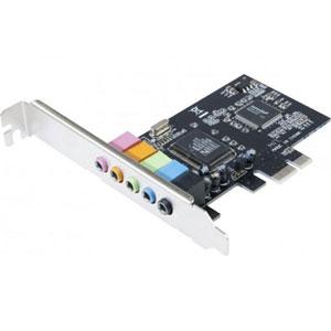 photo Carte son 5.1 PCI Express