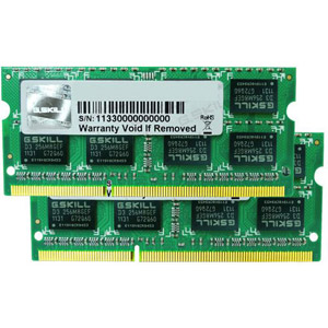 photo Standard SO-DIMM 8 Go (2x 4Go) DDR3 PC3-10600 CL9