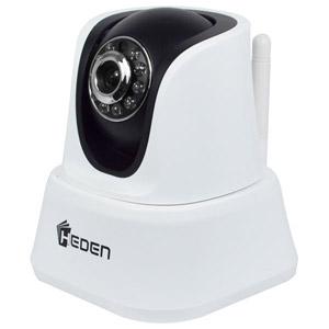 VisionCam HD intérieure Wifi motorisée Blanc/Noir