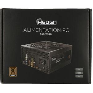 photo PC ATX 80Plus Bronze - 550W