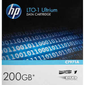 photo LTO-1 Ultrium 100 Go / 200 Go