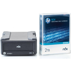 photo RDX Removable Disk (externe) + cartouche 2To