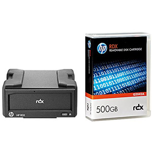 photo RDX USB3.0 (externe) + cartouche 500Go