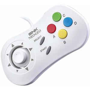 photo Gamepad Neo Geo Mini - Blanc