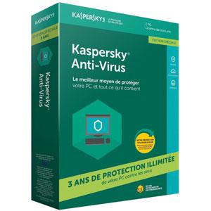 photo Antivirus 2018 - 1 poste / 3 ans