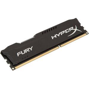 photo HyperX FURY Black 8GB 1600MHz DDR3 CL10
