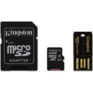 Mobility Kit Micro SDXC 64 Go - Adaptateur SD/USB