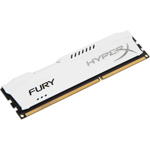 photo HyperX FURY White 8 Go DDR3 1866 MHz