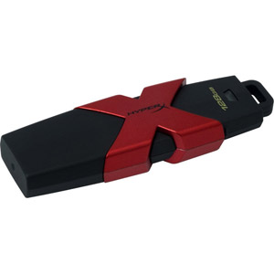 photo HyperX Savage USB 3.1 - 128Go / Noir, rouge
