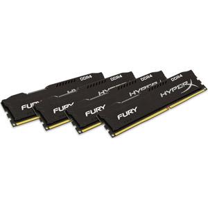 photo FURY Black 4 x 8 Go 2400MHz DDR4 CL15