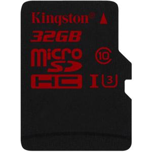 photo microSD UHS-I U3 90R/80W - 32Go