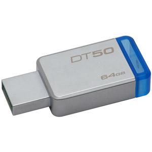 photo DataTraveler 50 USB3.1 - 64Go / Bleu