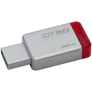 photo DataTraveler 50 USB3.1 - 32Go / Rouge
